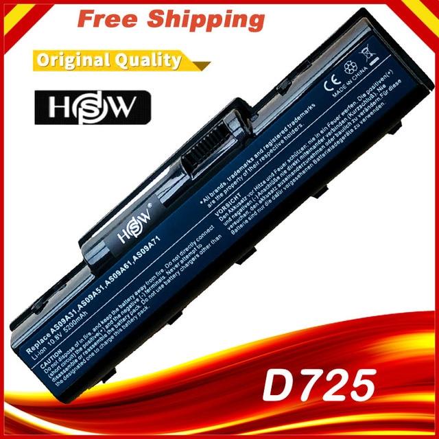 แบตเตอรี่แล็ปท็อปสำหรับ EMACHINE D525 D725 E525 E725 E527 E625 E627 G620 G627 G725 AS09A31 AS09A41 AS09A51 AS09A61 AS09A71