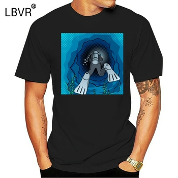 3D Buceo Camiseta Buzo Bucear Fondo De Mar De Equipo De Snorkel...