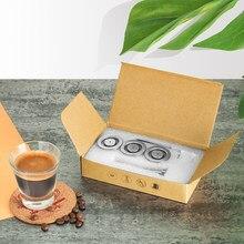ICafilas экологически чистая упаковка, многоразовые капсулы для кофе Nespresso, многоразовые капсулы, капсулы для эспрессо, Crema Maker