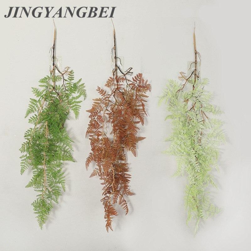 Персидский папоротник, лоза, подвесное искусственное растение, пластиковая листья, трава, свадьба, вечеринка, стена, балкон, Рождественское ...