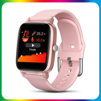 Smart Watch Men Touch Fitness Blood Pressure Heart Rate Smart watches Take body temperature iOS Android Smartwatch for Xiaomi