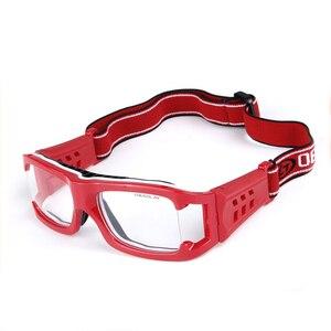 Image 3 - כדורסל משקפיים ספורט Eyewear כדורגל משקפיים גברים נגד התנגשות משקפיים כושר אימון משקפי אופני רכיבה על אופניים משקפיים