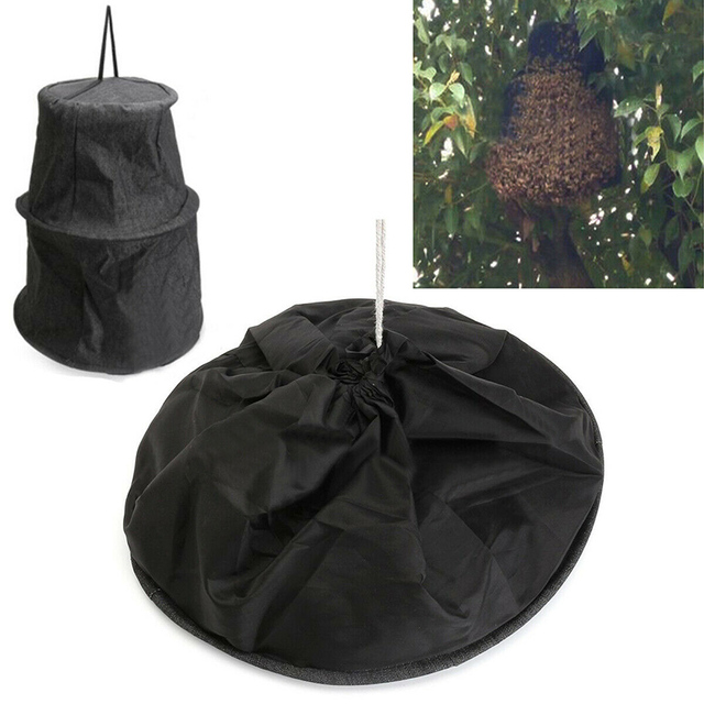 yeehao Bee Swarm Commander Lure Bait Black Bee Cage Trap Kit Beekeeper Tools