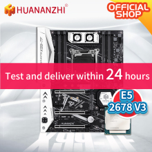 X99 Server ATX Xeon E5 Intel 2678 V3 DDR3/DDR4 Sata-3.0 RECC HUANANZHI with Memory-Combo-Kit-Set
