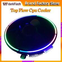 DarkFlash Aigo Computer Fall CPU Kühler Kühler Aluminium 12V Prozessor Kühler CPU Kühler Lüfter für Intel AM2/AM3/AM4