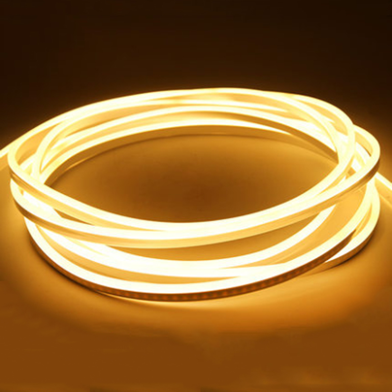 DC 12V Led Neon Light 2835 120LEDs/m Waterproof Flex Neon Strip Ribbon Tape Christmas Christmas  Fairy Outdoor LED Rope Tube