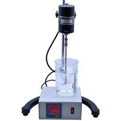 Agitateur aérien électrique de mélangeur de laboratoire de Digital 50Hz 0 ~ 3000 t/mn équipements chimiques de laboratoire fournitures de bureau et d'école