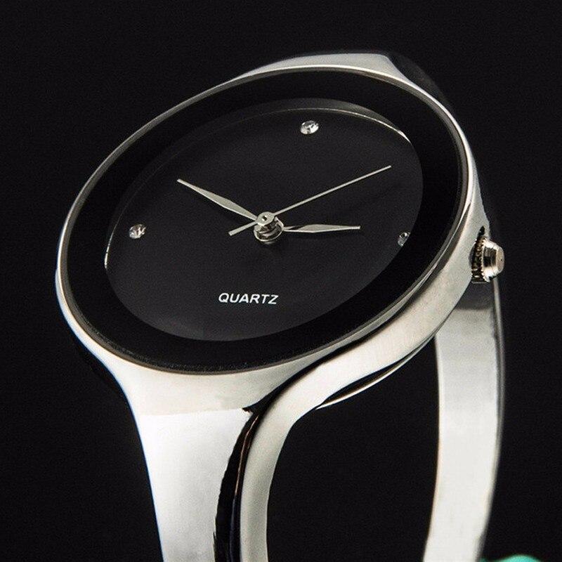 Top Fashion Women Watch Female Luxury Brand Full Steel Bracelet Watches Ladies Quartz Dress Wrist Reloj Mujer Hodinky Ceasuri