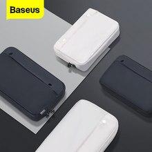 Baseus-funda para teléfono móvil, bolsa de almacenamiento Digital portátil, impermeable, de viaje, para iPhone 11, Huawei, Samsung y Xiaomi