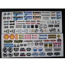 RC Car Body Water Stickers for Traxxas TRX4 Defender Axia