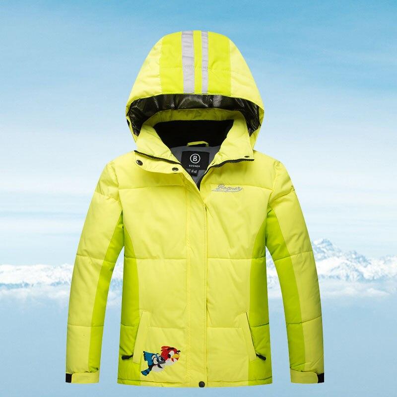 Ski Jacket Kids Brand New High Quality Children Windproof Waterproof  Snow Coat Winter Girls Boys Skiing And Snowboarding Jacket