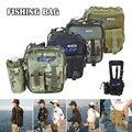 Водонепроницаемая сумка для рыболовных снастей с наплечным ремнем многофункциональные карманы для хранения ALS88