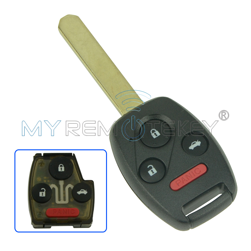 Remtekey remote key 3 button with panic for honda key OUCG8D-380H-A - Auto Replacement Parts