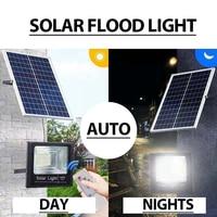 65/45/30/25W LED flutlicht Solar street lichter haushalts wasserdichte fernbedienung indoor und outdoor beleuchtung garten wand lampe