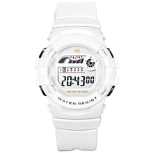 Kid Watches White Girl Sports Stopwatch Alarm Chrono Watch Electronic for Boy Waterproof Sport Digital