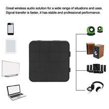 Đen Bluetooth 5.0 Âm Thanh Thu Phát AUX Dành Cho Xe Hơi 3.5 Tivi Stereo Máy Tính RCA Jack 3.5MM Loa Không Dây USB âm Nhạc Thích Nghi Với Z1F0