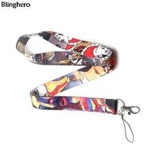 Blinghero Фредди Меркьюри шнурок для ключей крутые ремни на шею с клавишами шнурки для подвешивания певица Lanyards коллекция BH0201