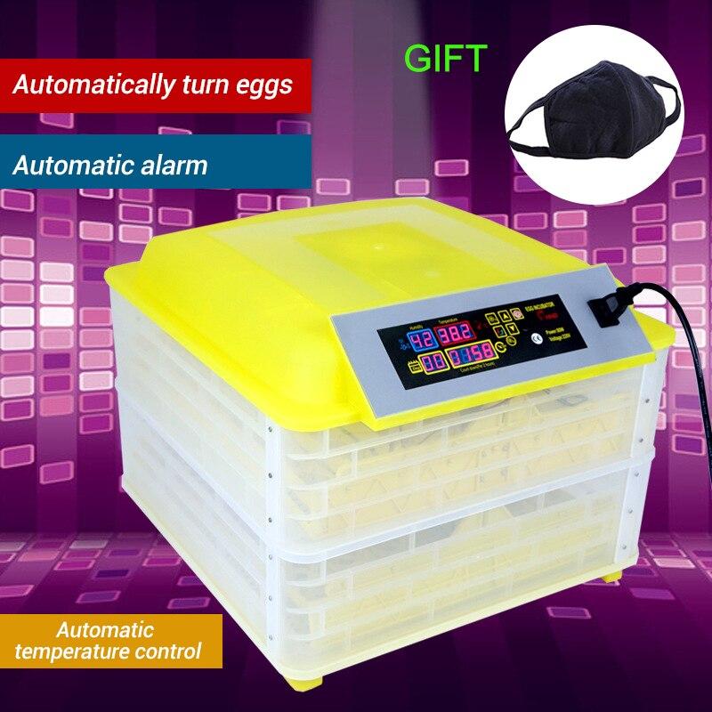 Automatico Uovo di Gallina Incubatrice Controller per 96 Uova Uovo di Svolta Digitale di Controllo della Temperatura Farm Macchina Incubatoio Uova di Pollo Hatcher