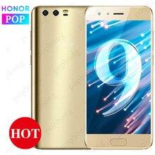 5.15 นิ้ว HONOR 9 4G/6G RAM 64G ROM Android 7.0 โทรศัพท์ Kirin 960 Octa Core กล้องด้านหลังคู่ 9V 2A สมาร์ทโฟน