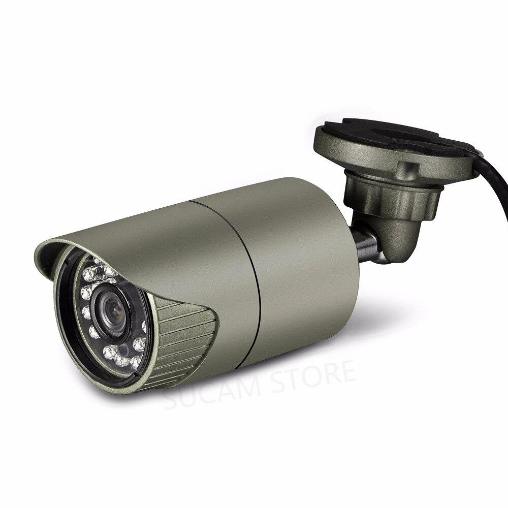 2MP Caméra Réseau IP HD 3.6mm Lentille 24 pièces Led IR Vision Nocturne P2P ONVIF Infrarouge Caméra De Sécurité À Domicile POE