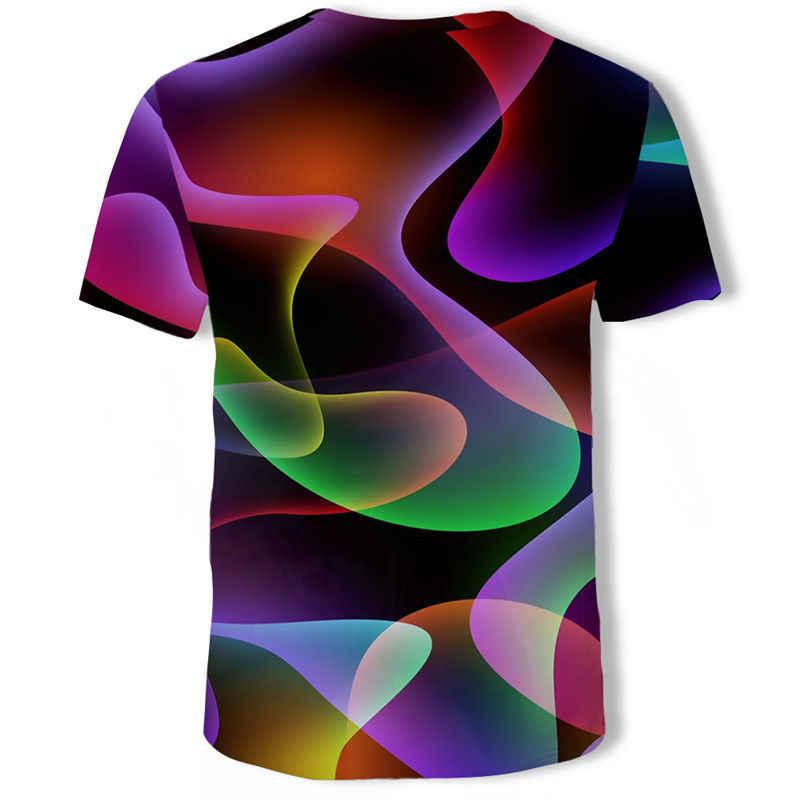 2019 고품질의 여름 새로운 3d 짧은 소매 티셔츠 캐주얼 짧은 소매 3d 티셔츠 공장 직접 판매를 사용자 정의 할 수 있습니다