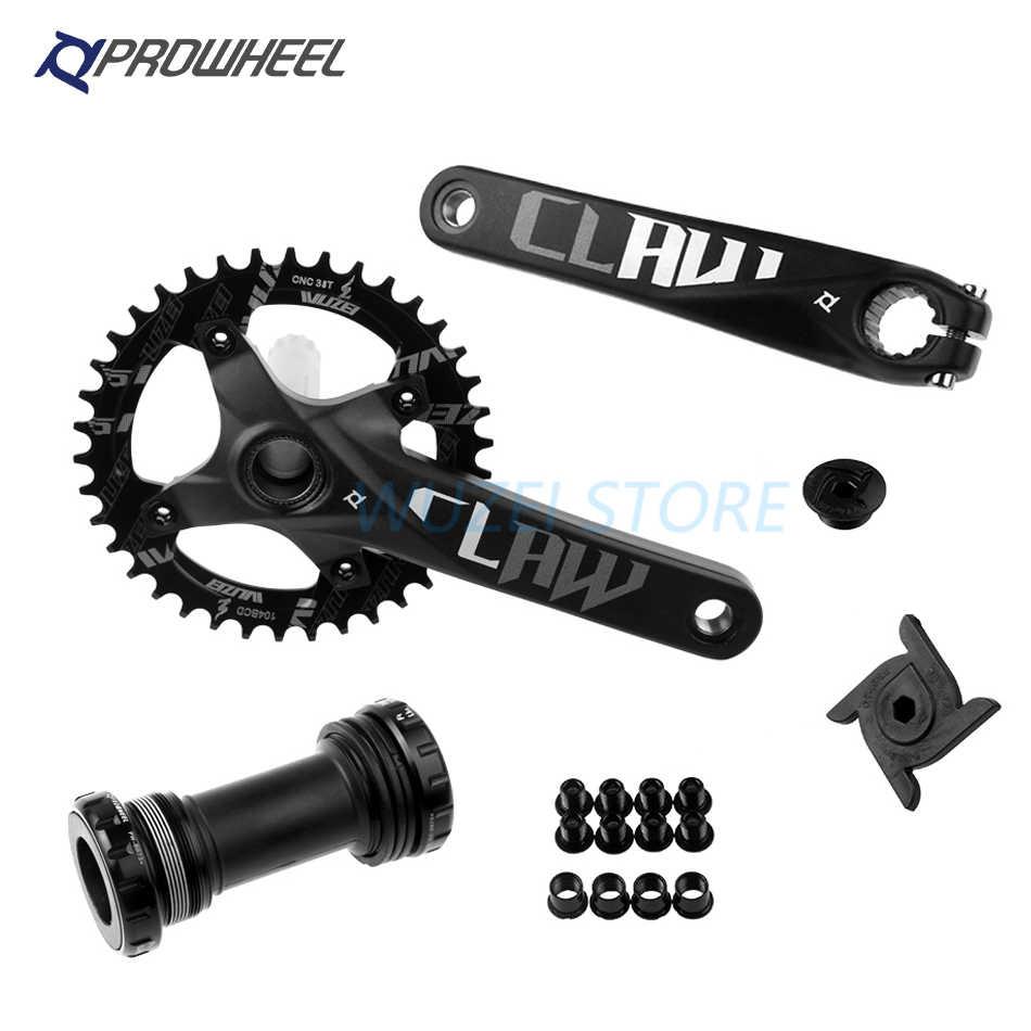 104BCD 170//175mm MTB Bike Crankset w// Bottom Bracket Mountain Bicycle Crank Set