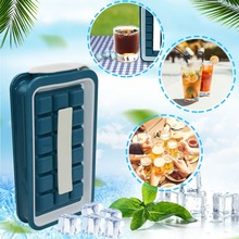 2020 Summer Keep Cold Ice Cubes Maker Bottle With Lid Makes Small Size Ice Chips Durable Ice Cube Trays Trays trays