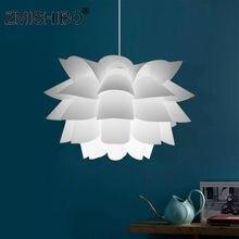 Zmishibo diy Лотос абажур pp потолочный светильник подвесной