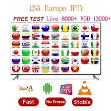 World IPTV Subscription 8000+Live&13000+VOD android tv Dutch Spain Portugal Israel Arabic Italy IPTV M3u enigma2 x96mini android smart set top tv box 1 year nordic israel portugal dutch scandinavia europe world iptv subscription live vod kbd
