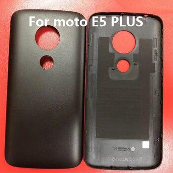 Caliente 10 piezas envío gratis E5 Plus Tapa trasera de la puerta trasera para Motorola Moto E5 Plus E5Plus carcasa de la cubierta de la batería de Moto los casos