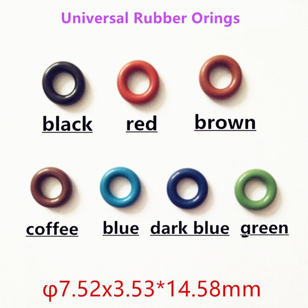 Toptan 20 adet evrensel enjektör kauçuk Oring GB3-100 ASNU08C o-ringler en kaliteli yakıt enjektörü tamir takımları