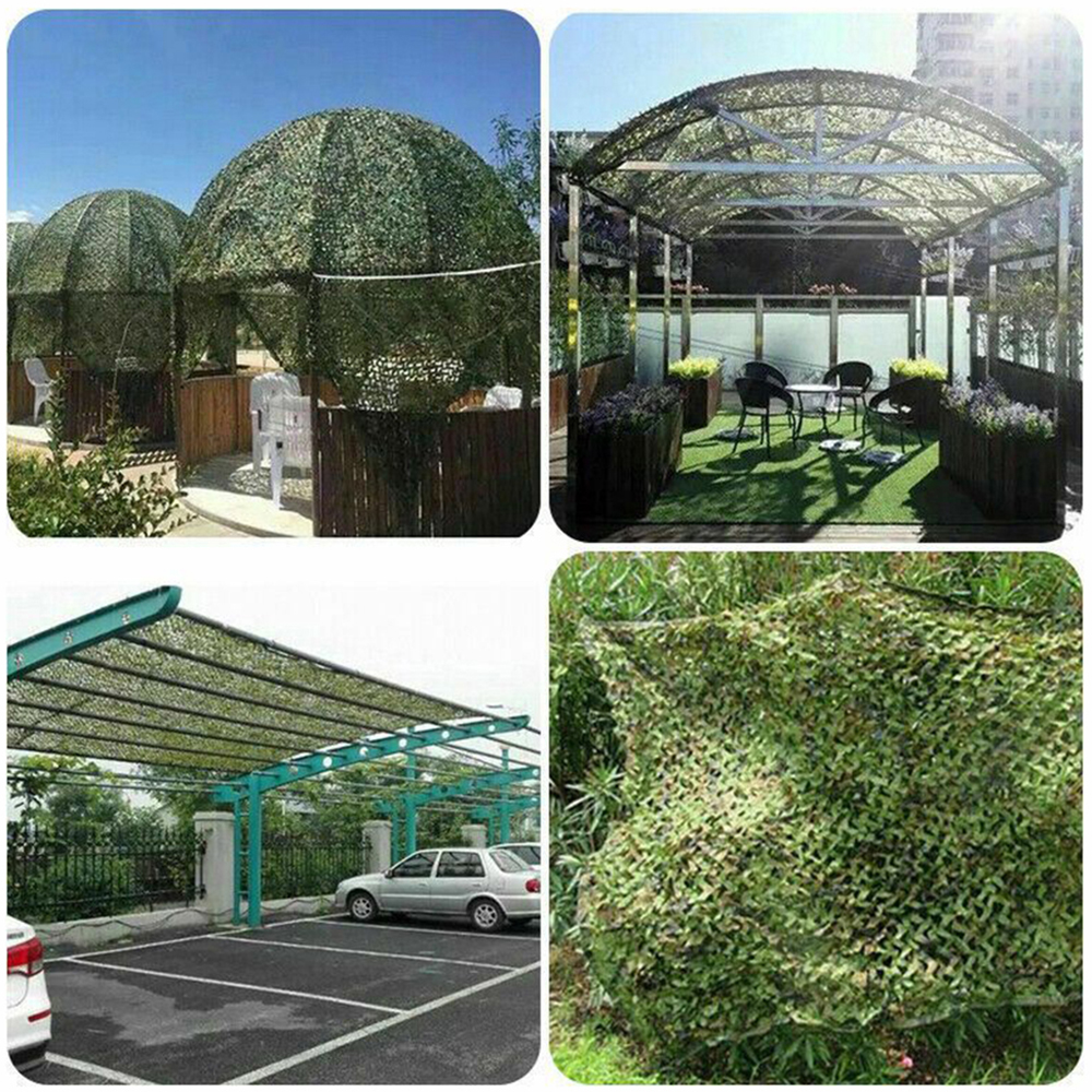Military camouflage nets, shade nets, shade sails, suitable for decoration of camps and courtyards and various places-3