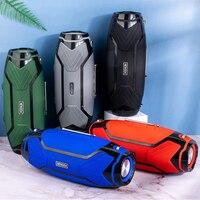 Altavoz Bluetooth de alta potencia, minialtavoz portátil inalámbrico BT5.0 de 40W, con graves, estéreo, para música, viajes al aire libre y fiestas, 2021