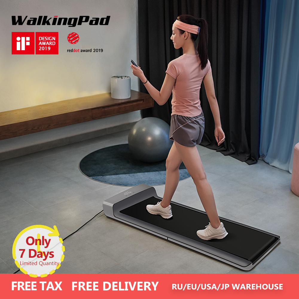 WalkingPad A1 Smart Electric Foldable Treadmill Jog Fast Walk Machine For Home Sport Fitness Equipment Xiaomi Ecosystem Kingsmit