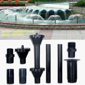 8/9Pcs Multifunctional Garden Pool Sprinkler Spray Nozzle Drip Irrigation Tool image