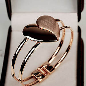 Bracelets Bangle Wristband Women Lady New-Fashion Heart for Elegant Bling/Gift/Acero/..