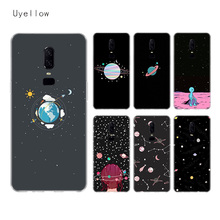Uyellow Planet Space Silicone Soft Case For One Plus 7 Pro 6 6T 5 5T Fashion Fundas Printed Cover Luxury Phone Coque TPU Shell uyellow star wars watercolor soft tpu case for one plus 7 pro 6 6t 5 5t fashion fundas printed cover silicone luxury phone coque