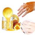 Peeling Hand Füße Maske Wachs Honig Essenz Paraffin Bad Natriumhyaluronat Feuchtigkeitsspendende Spa Peeling Hände Fuß Pflege Creme