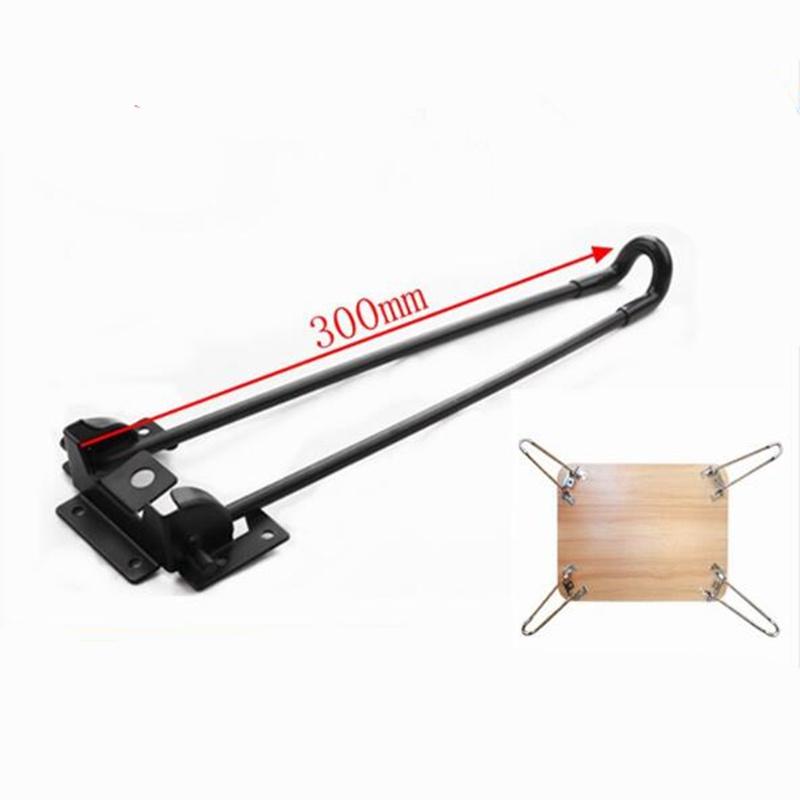 4pcs 300MM Folding Table Legs Iron Metal Hairpins Legs Feet For Laptop Coffee Desk Bed Support Bracket Furniture Hardware Parts