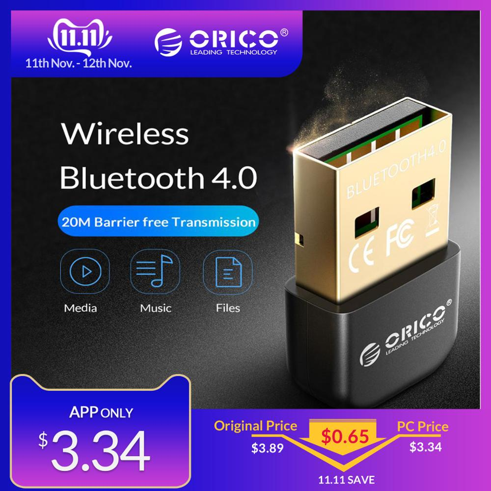 ORICO BTA 4,0 <font><b>USB</b></font> Wireless <font><b>Bluetooth</b></font> Adapter Transmitter Dongle Musik Sound Empfänger für PC Windows Vista <font><b>Bluetooth</b></font> 2,1/2,0 /3,0 image