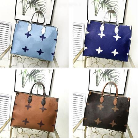 LU44569 Large monogram bag real leather designer handbag high quality women onthego on the go famous brand luxury