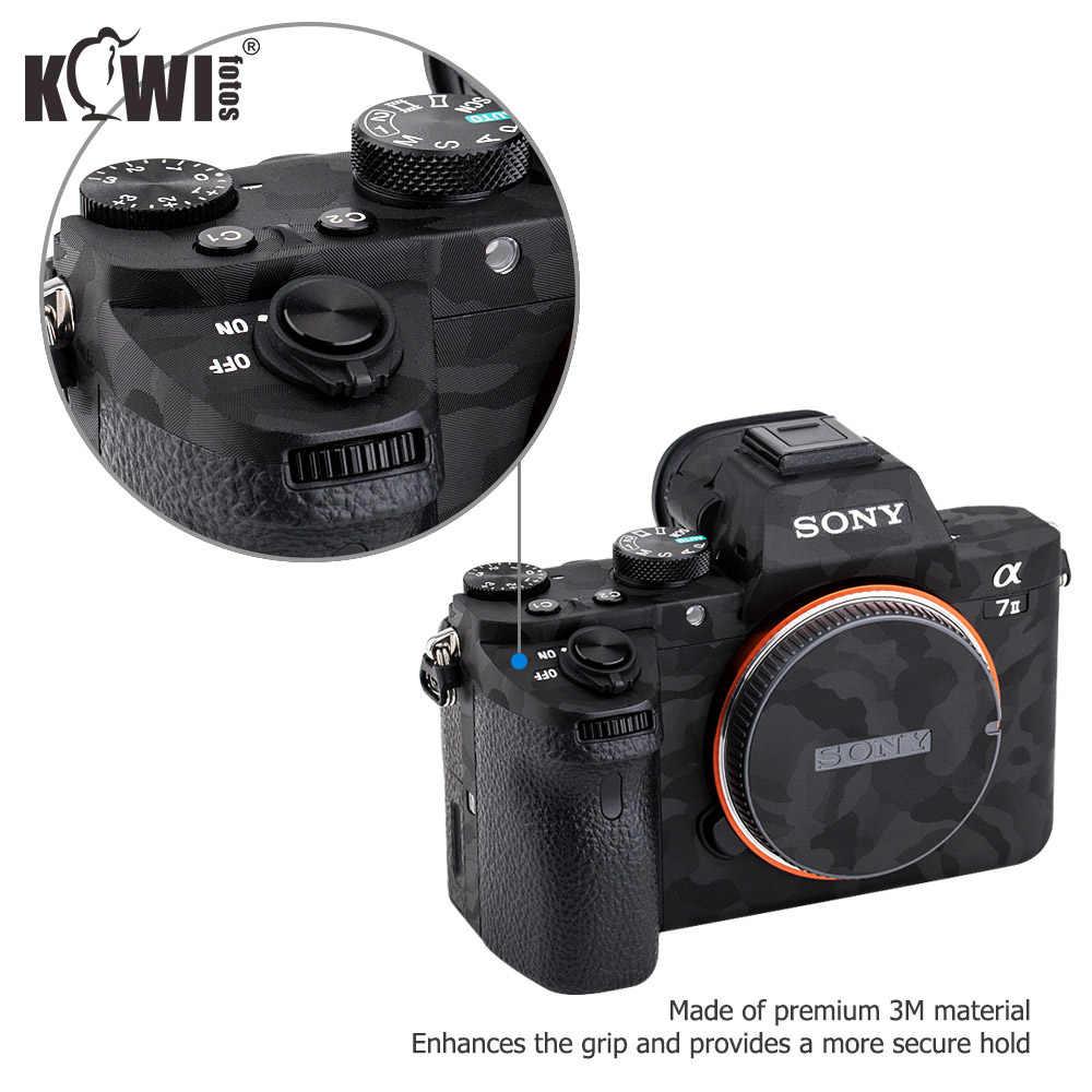 a7S II II a7R II JJC #A7M2SK anti-arañazos Protectora Piel Película Para Sony a7,