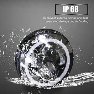 Image 5 - 共同ライト 2 個 7 インチled駆動ライト 50 ワット 30 ワットH4 H13 led車のヘッドライトキット自動lada ledヘッドランプ電球浸し & ハイビーム