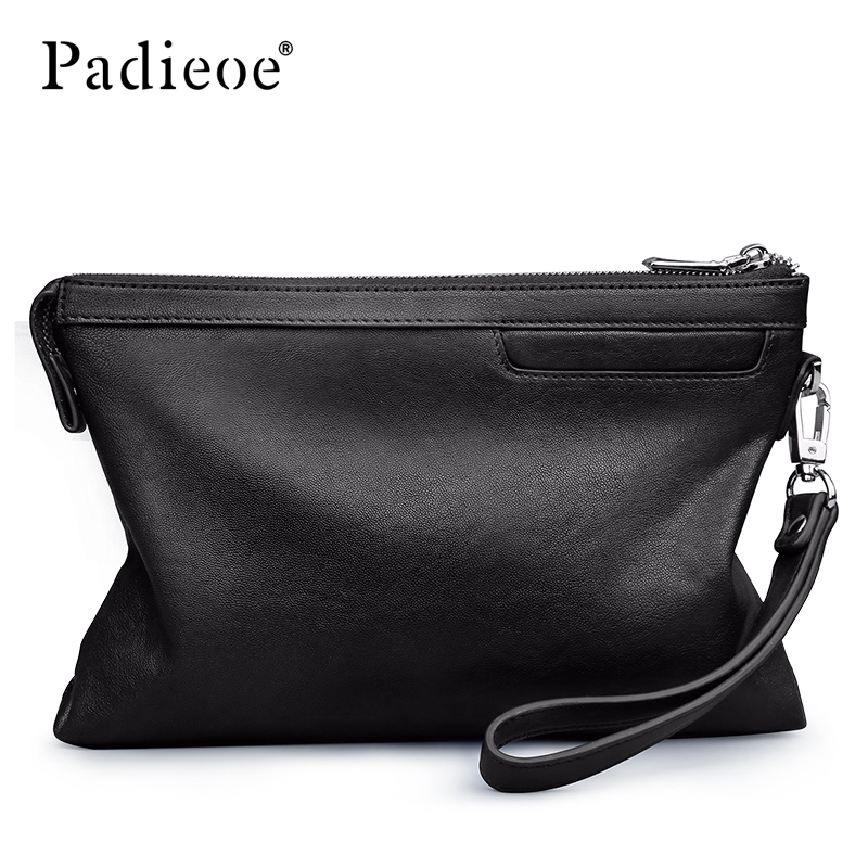 Padieoe men wallets purses luxury money bag clutch fashion Simple