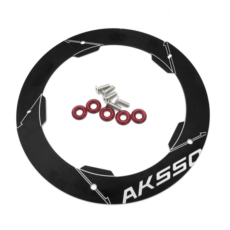 MTKRACING For <font><b>KYMCO</b></font> AK550 2017 2018 2019 2020 Motorcycle Accessories Transmission Belt Pulley Protective Cover image