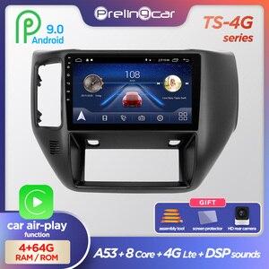 Prelingcar Android 9.0 NO 2 din DVD Car Radio Multimedia Video Player GPS Navigation For NISSAN PATROL 2011 12 13 14 2015 DSP(China)