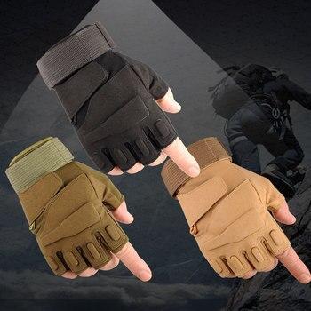 Taktische volle halbe Finger Handschuhe männer Special forces Anti-Slip Handschuhe für Commando Tactics Outdoor training kampf atmungsaktiv