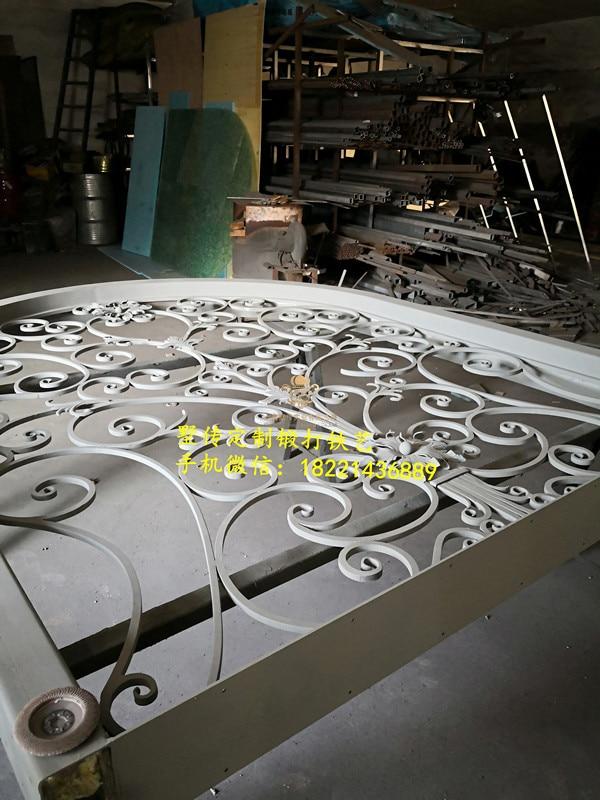 Shanghai Hench Brand China Factory 100% Custom Made Sale Australia Wrought Iron Doors Prices