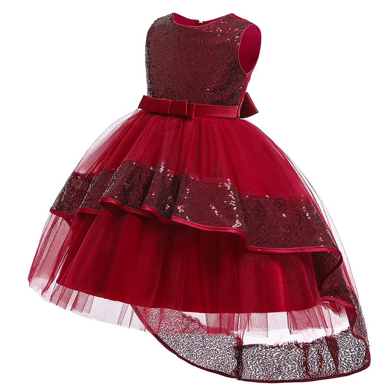 First Communion Dresses For Girls Ball Gown For Girls Little Ladies Dress Children's Clothing 3-10 Year Baby Tutu Costume T5096