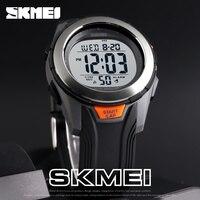 SKMEI Fashion Watch Men Multifunction Digit Watch Waterproof Alarm Clock Stainless Steel Case Watches Relogio Digital Wristwatch